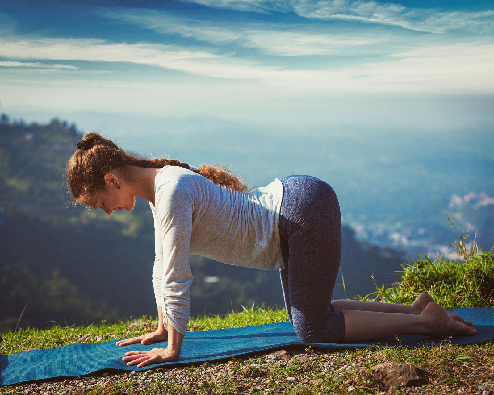Woman Yoga Pose | How To Ease Back Pain With These 35 Yoga Poses