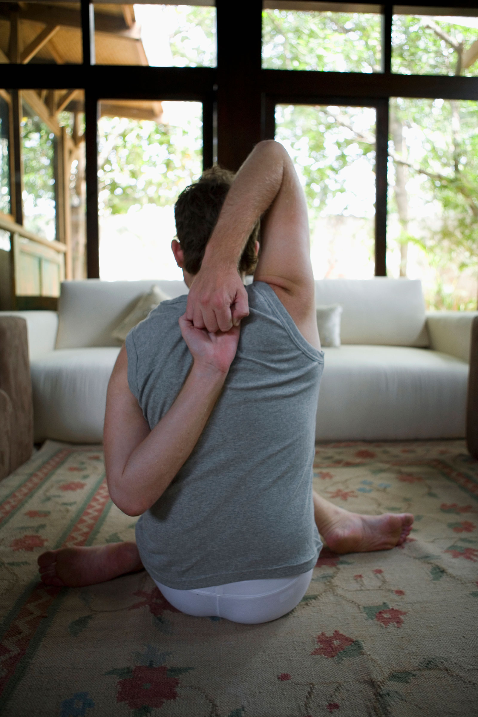 Man Yoga Pose at Home | Yoga For Men: Why More Guys Should Do Yoga Often