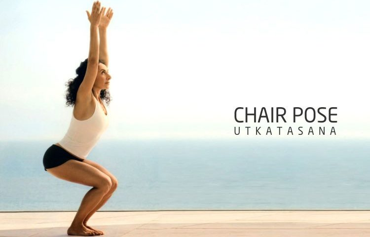 Yoga Chair Pose for Back Pain