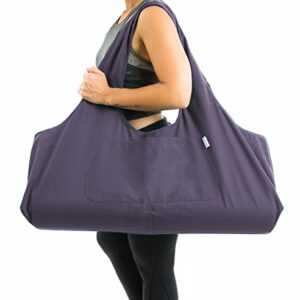 Large Yoga Mat Tote Sling Carrier by Yogiii