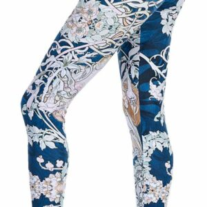 Women's Printed Leggings by Ndoobiy