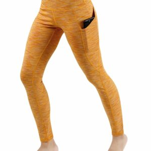 High Waist Out Pocket Yoga Pants by ODODOS