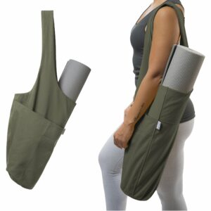 Yoga Mat Tote Sling Carrier by Yogiii