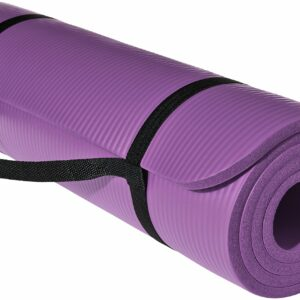 1/2-Inch Extra Thick Exercise Mat by AmazonBasics