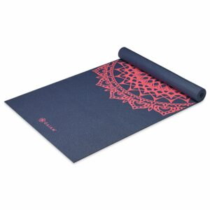 Classic 4mm Print Exercise Yoga Mat by Gaiam