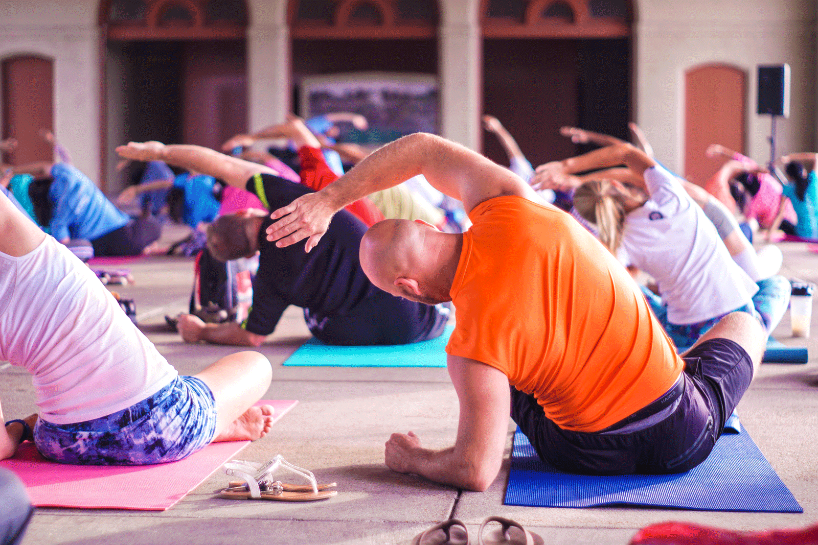 Group Yoga | How To Choose The Best Yoga Mat For You